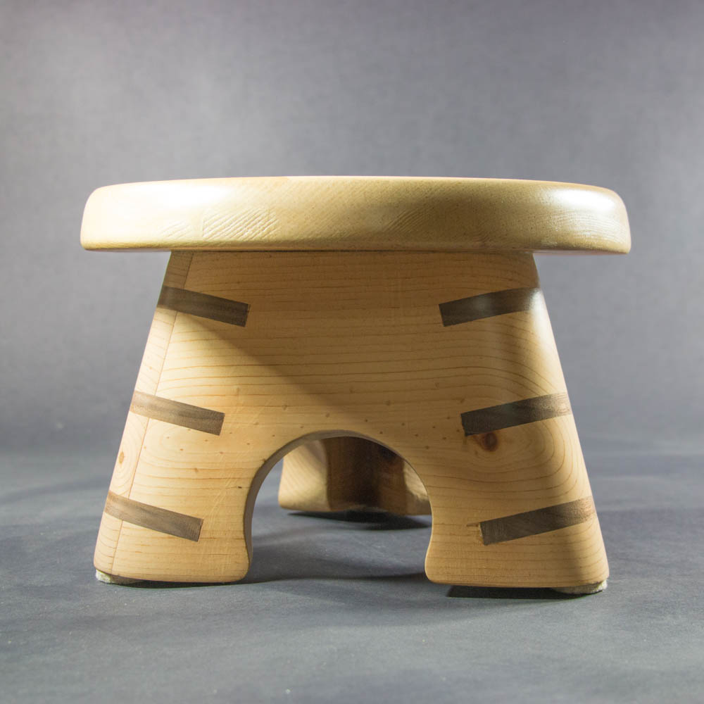 Small Round Triangular Stool Mark Pelloth